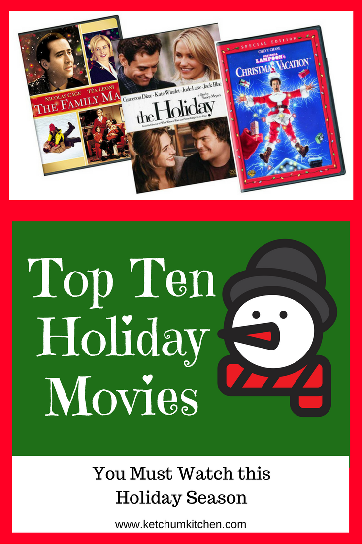 Top 10 Holiday Movies to Watch this Season